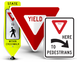 Yield Signs